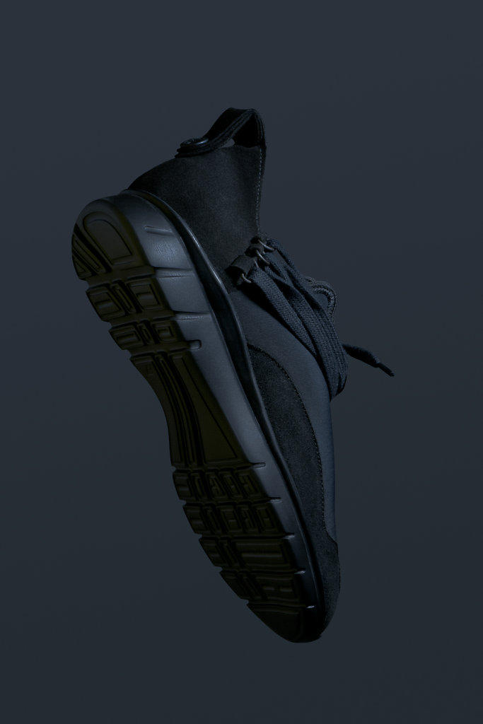 ekn footwear, Bamboo Runner Triple Black C P1
