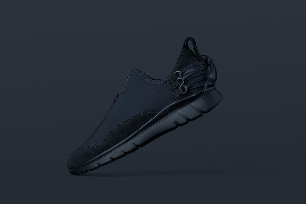 ekn footwear, Bamboo Runner Triple Black C P3
