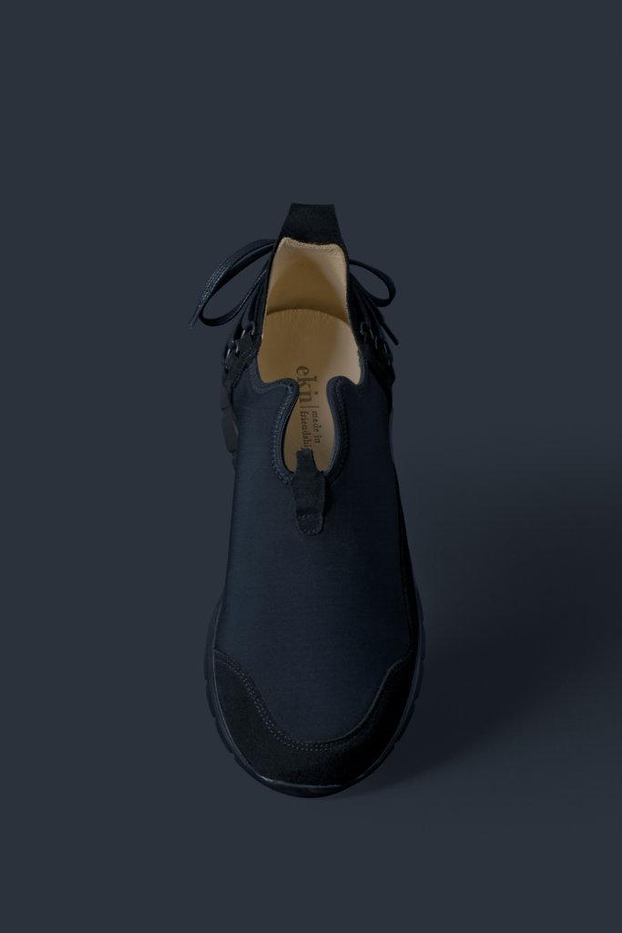 ekn footwear, Bamboo Runner Triple Black C P4