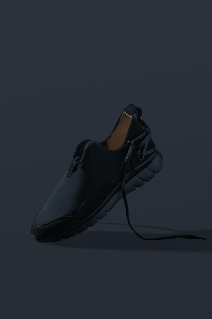 ekn footwear, Bamboo Runner Triple Black C P7